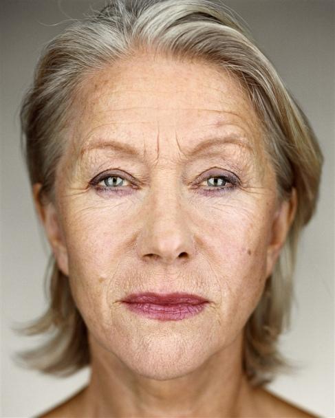 """2/5 """"Helen Mirren"""" by Martin Schoeller"""