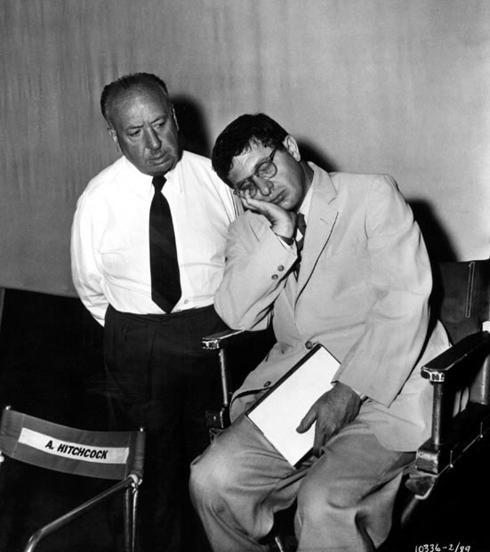 BH_56 Alfred Hitchcock and the overworked composer of The Man Who Knew Too Much, Bernard Herrmann