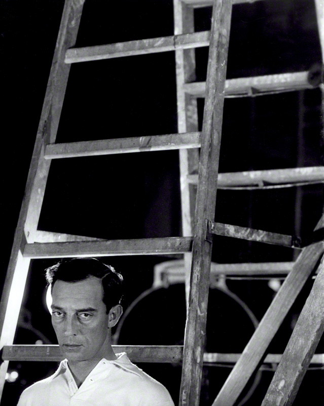 NPG x40625; Buster Keaton by Cecil Beaton