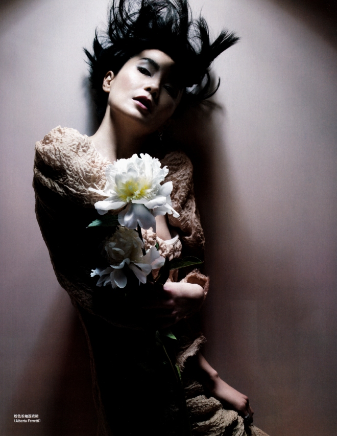 Maggie Cheung by Nick Knight for Vogue China Sep 2009