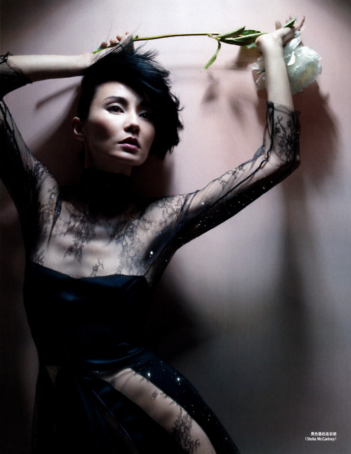Maggie Cheung by Nick Knight for Vogue China1