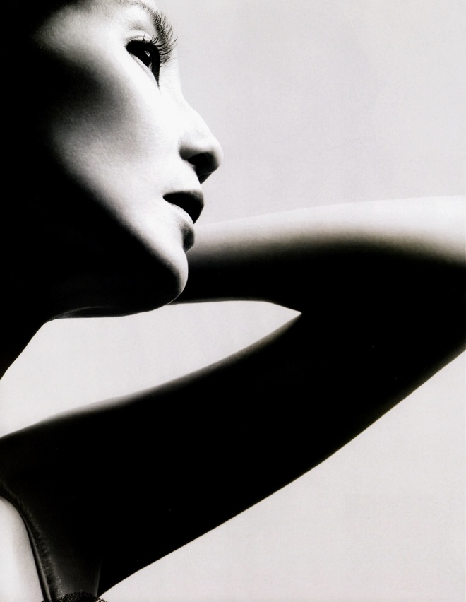 Maggie Cheung for Vogue China photographed by Nick Knight, September 2009