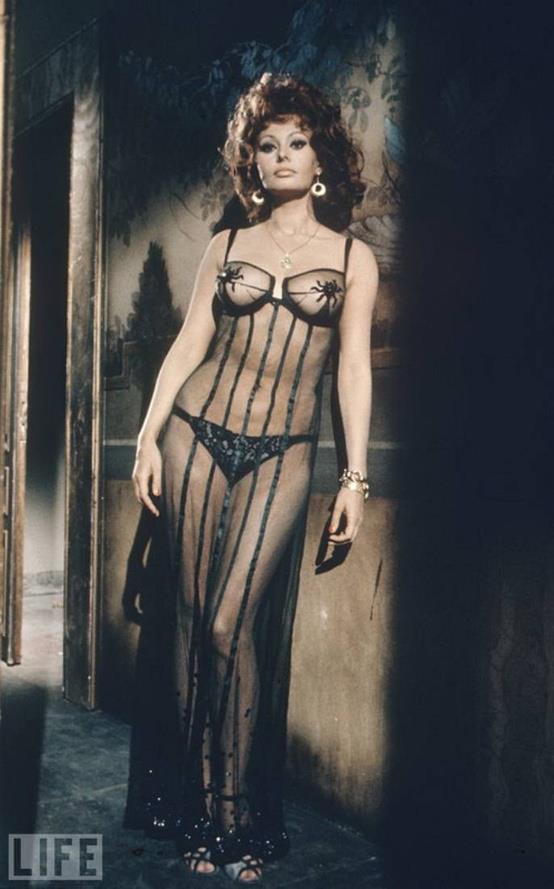 Sophia Loren by Alfred Eisenstaedt, 1966