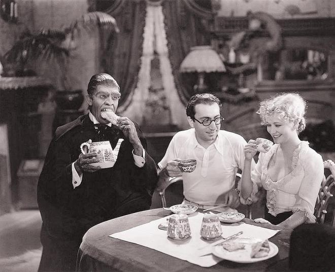 Behind the scenes of 'Dr Jekyll and Mr Hyde' (1931) - Frederic March, director Rouben Mamoulian and Miriam Hopkins