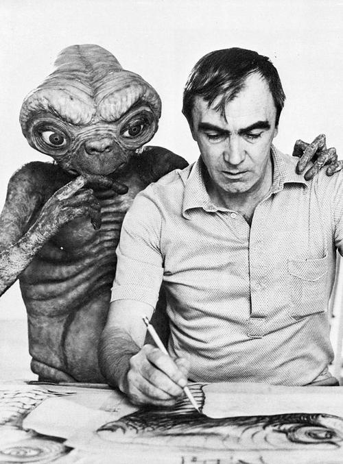 Carlo Rambaldi, designer of E.T. the Extra-Terrestrial