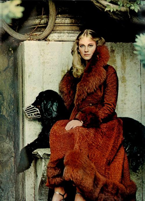 Cybill Shepherd by Helmut Newton, 1973.