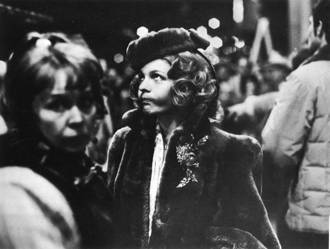Diane Keaton on the set of The Godfather, New York, 1971 by Harry Benson