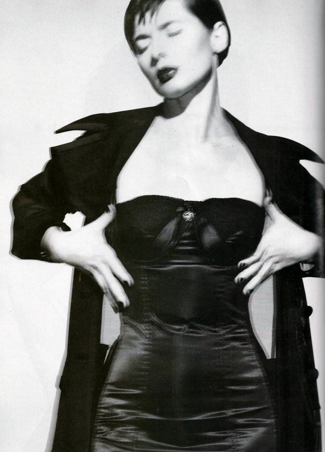 Isabella Rossellini photographed by Gilles Bensimon for Elle, February 1995