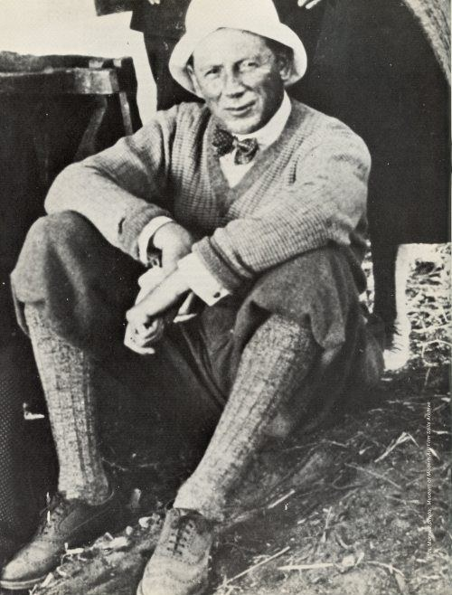 Murnau Always sharply dressed. Circa 1927.