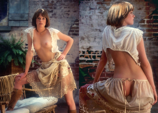 MG_P2 Melanie Griffith; for Playboy, October 1976.
