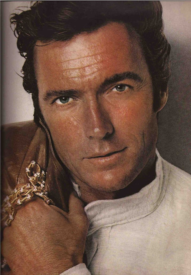 Clint Eastwood. Harper's Bazaar USA (1970)