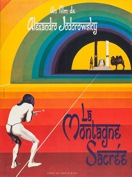 French Poster for The Holy Mountain (Alejandro Jodorowsky, 1973)
