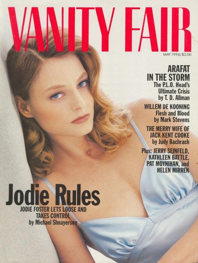 Jodie Foster by Steven Meisel for Vanity Fair, May 1994