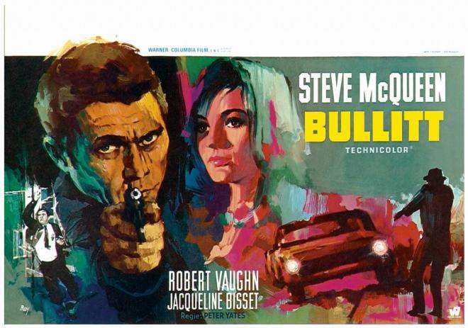 bullitt belgian poster