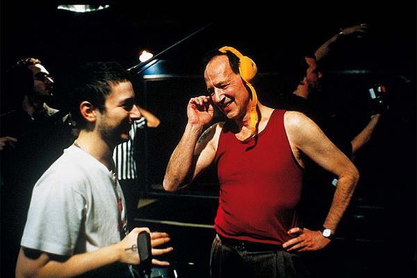 Harmony Korine & Werner Herzog filming Julien Donkey Boy