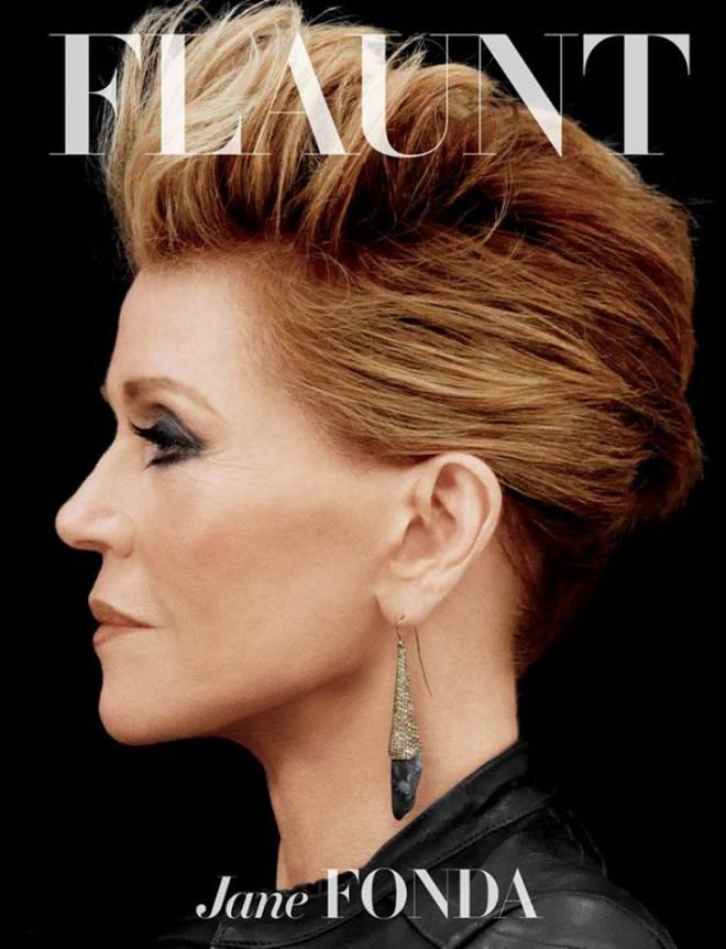 Jane Fonda Flaunt magazine