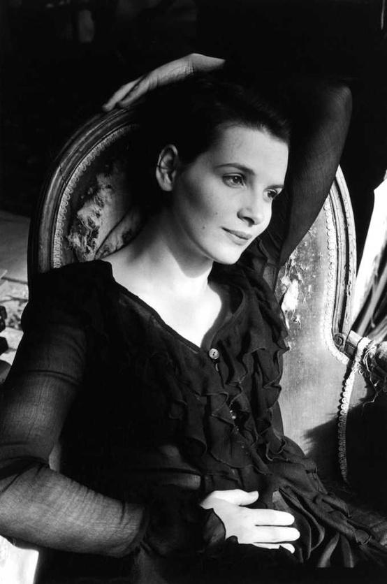 Juliete Binoche by Edouard Boubat