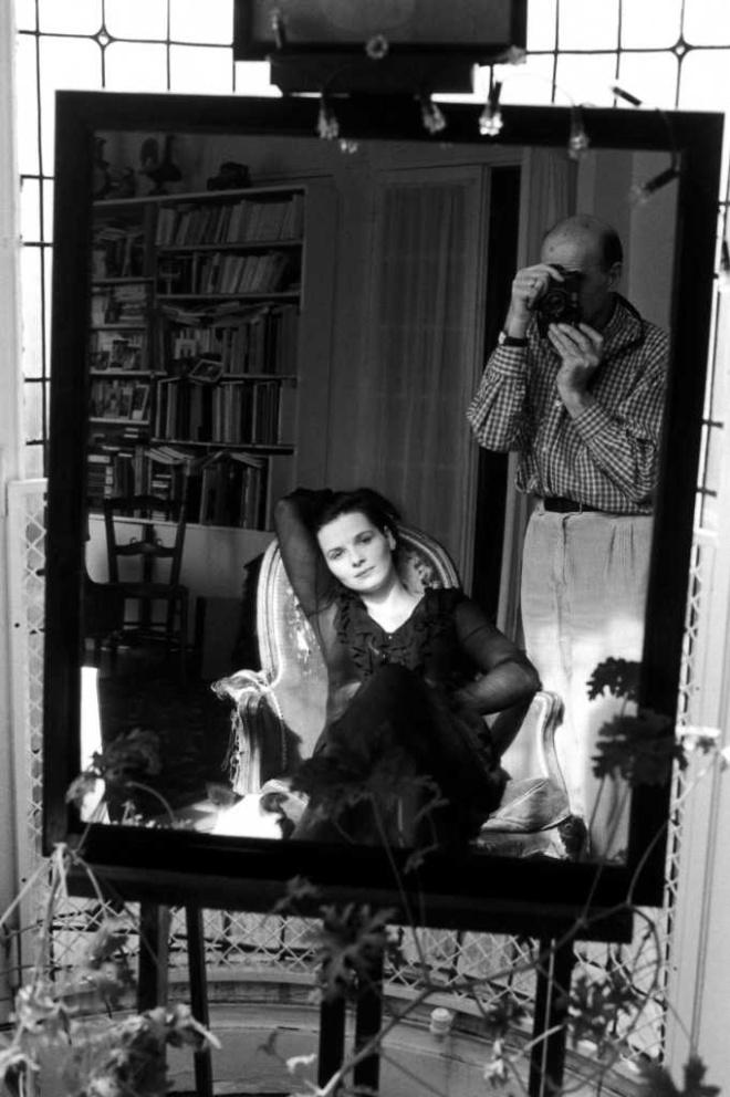 Juliette Binoche par Edouard Boubat