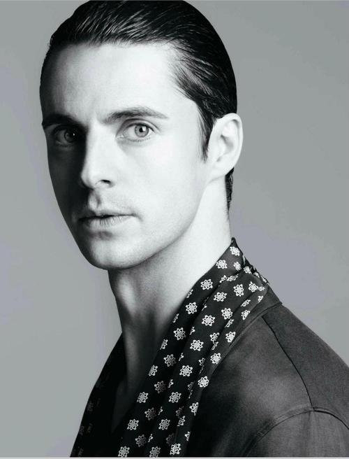 Matthew Goode for L'Officièl Hommes Italia