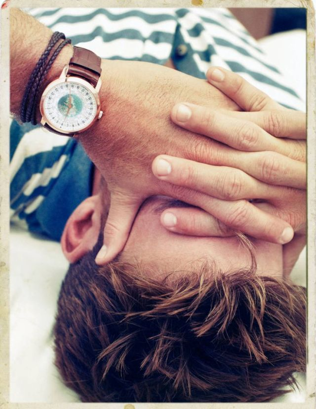 Vacheron Constantin watch on Scott Eastwood.