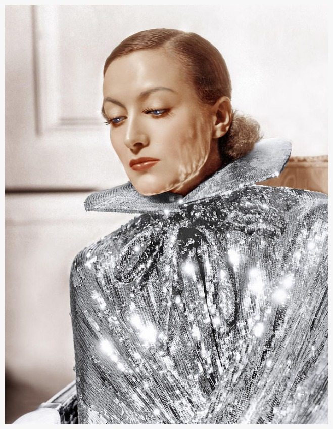 Blaog_Joan Crawford, Photo By Hurrell 1934 Original Classic in Black and White nice rstore