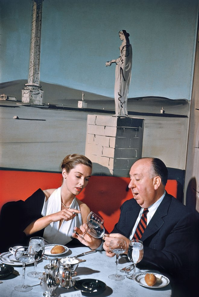 BLOG_Alfred Hitchcock and Vera Miles. New York City, 1957.