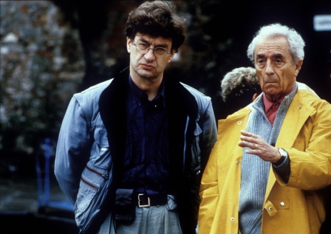 BLOG_Wim Wenders and Michelangelo Antonioni while filming Beyond the Clouds (1995)
