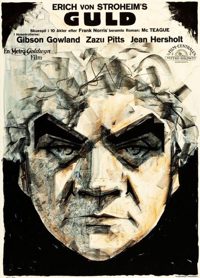 Greed (Erich von Stroheim, 1924) Danish design