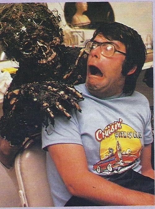 Stephen King, behind the scenes on Creepshow