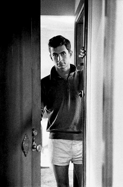 Anthony Perkins photographed by Wayne Miller in Australia while filming On the Beach, 1959.-6