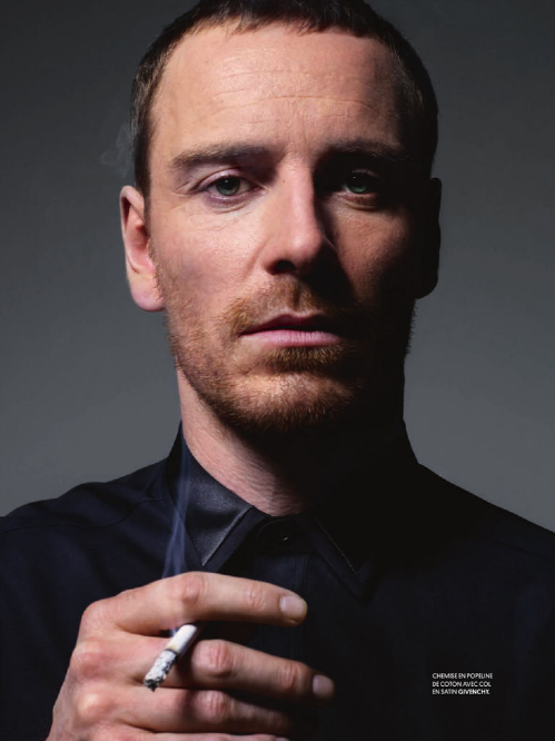Fassbender in Obsession Magazine,Photos by Jean-Baptiste Mondino-5