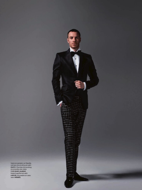 Fassbender in Obsession Magazine,Photos by Jean-Baptiste Mondino-6