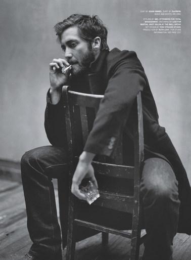 Mark Seliger shoots Jake Gyllenhaal for Details Magazine Sept. 2012