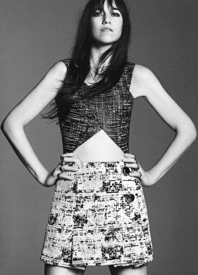 Charlotte Gainsbourg by Karim Sadli (In My Balenciaga - 032c #24 Spring-Summer 2013)
