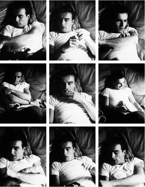 Montgomery Clift photographed by Stanley Kubrick for an issue of Look, 1949
