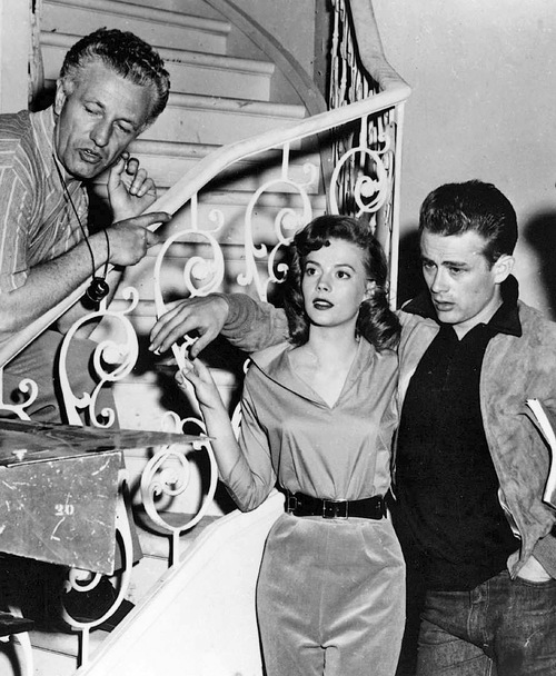 "00/00/1955. Film ""Rebel without a cause"" (La fureurde vivre) by Nicholas Ray"
