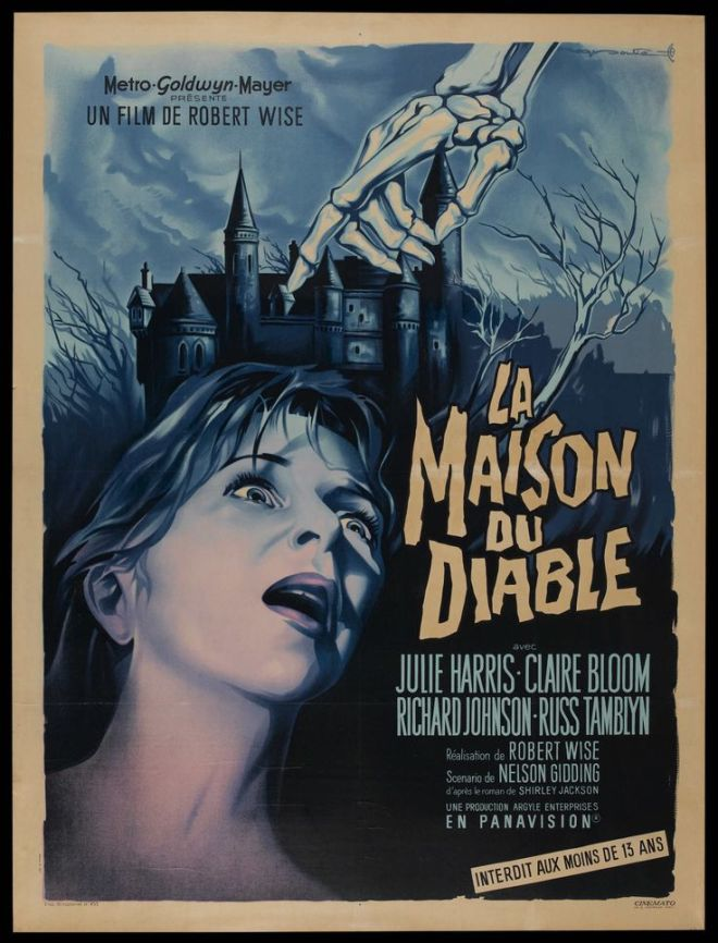 The Haunting (Robert Wise, 1963) French grande design by Roger Soubie