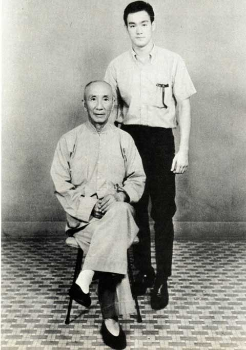 Ip Man & Bruce Lee