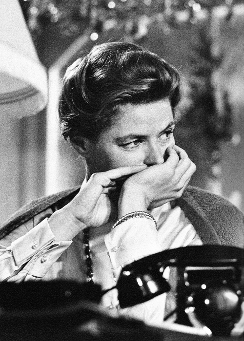 Ingrid Bergman, 1961. Photographed by Yul Brynner.