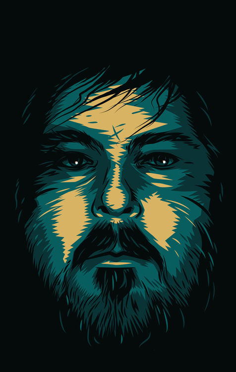 a portrait of Ben Wheatley for the Guardian Guide cover by Matt Taylor