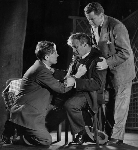 BLOG_Lee J Cobb as Willy Loman in Elia Kazan's original 1949 production of Death of a Salesman