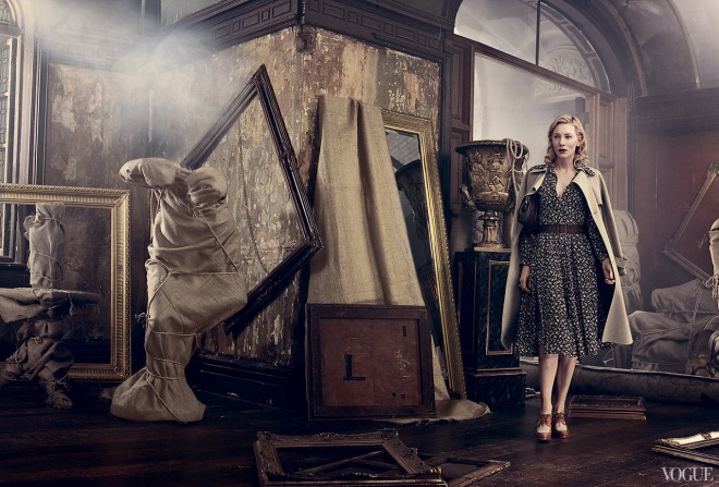 Cate Blanchett, photographed by Craig McDean for Vogue, Jan 2014.-2