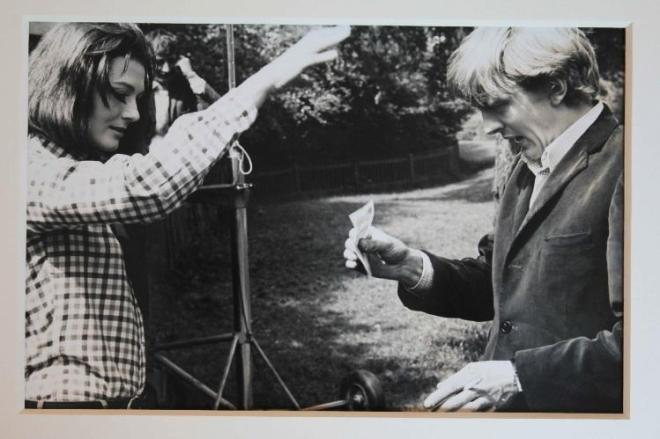 Vanessa Redgrave and David Hemmings on the set of Blow-Up-2