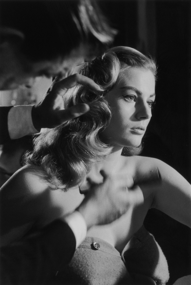 Anita Ekberg by John Chillingworth, 1955