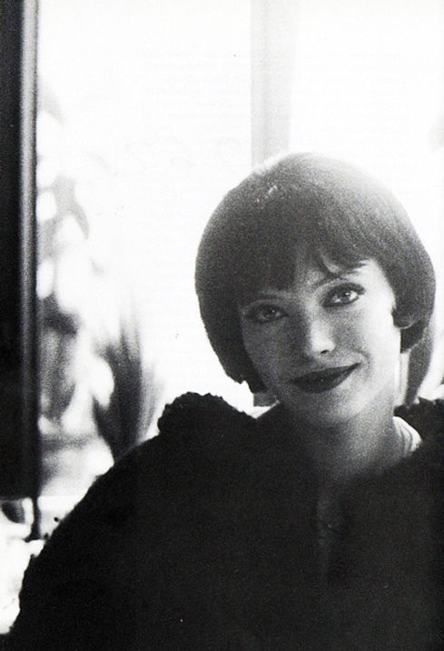 Anna Karina on the set of Vivre Sa Vie (1962, dir. Jean-Luc Godard)._2
