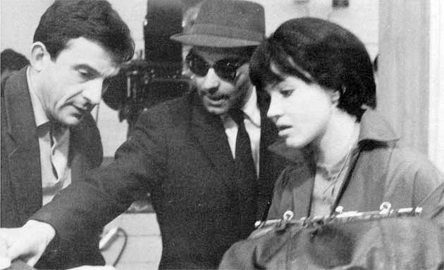 On the set of Vivre Sa Vie (1962, dir. Jean-Luc Godard)_2