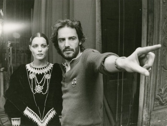 BLOG_romy schneider and andrzej żuławski on the set of l'important c'est d'aimer (1974)