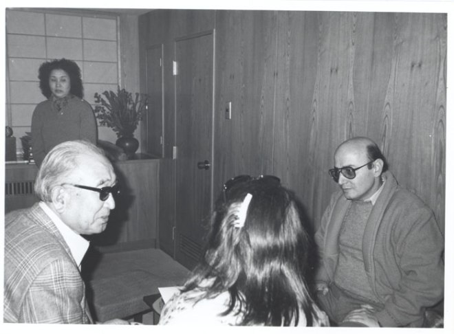 BLOG_Theo Angelopoulos here with Akira Kourosawa