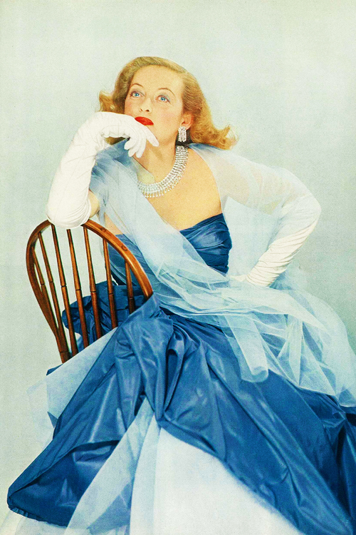 Bette Davis for Vogue, 1951