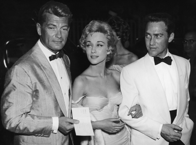 Jean Marais, Carol Leslie and Richard Todd, 1958